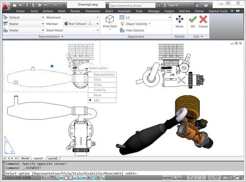 Autocad2012 wn model documentation