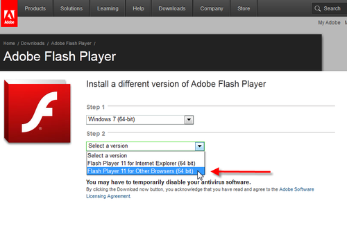 Flash_otherbrowsers